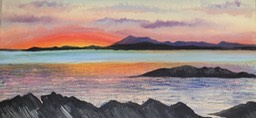 Sunset over Skye (Lynne Howat)